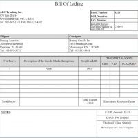 Blind Bill of Lading